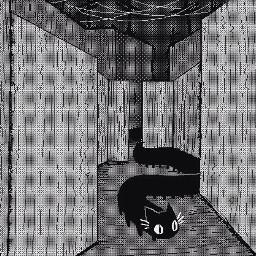pixelart centipedecat