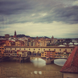 bridge pontevecchio architecture travel florence