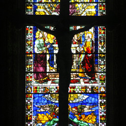 crucifix church art architecture