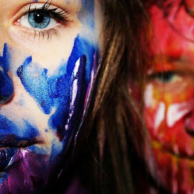 #colorful #photography #colorsplash#bodyart #eyes  #emotions