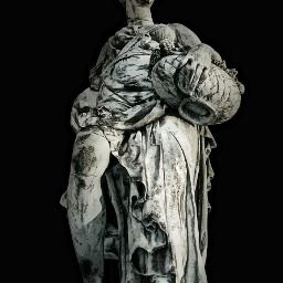 monument statue art blackandwhite