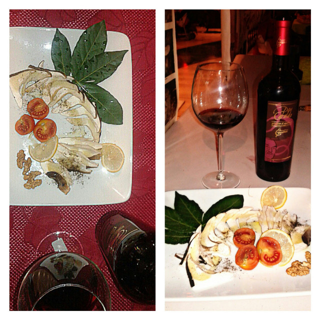 Con questa prelibatezza  preparata dallo #Chef Massimo Vinci abbiamo concluso l'edizione #SanMartino di #MadeinPuglia a #Taranto #Cmongolfiera #cantinecapuzzimati #madeinitaly