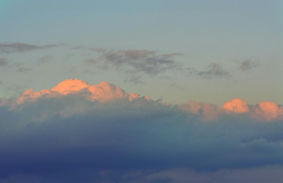 真想吃一啖 ~ 散光云 #clouds #sunset #freetoedit