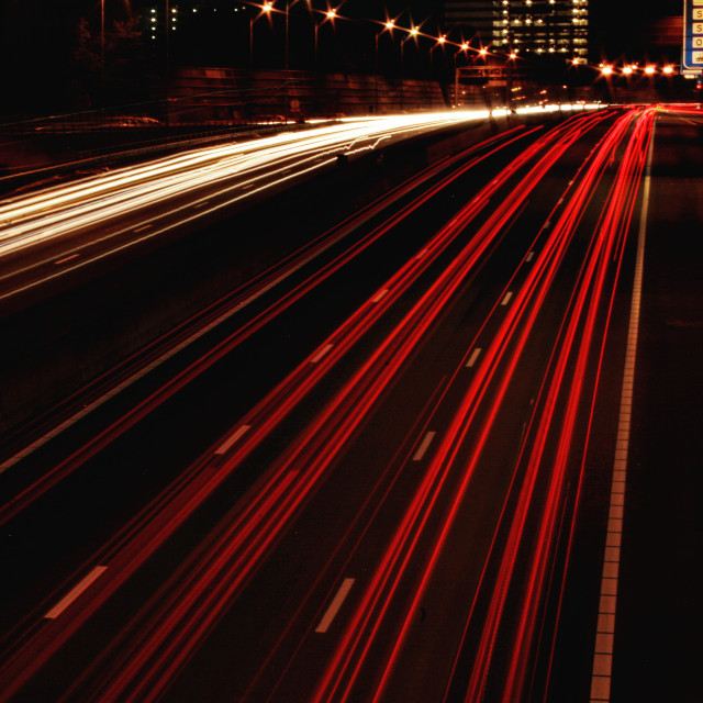 Highway #photography #travel #cars #night #highway #city