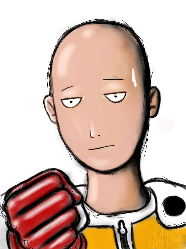 Another Saitama ..watch the drawing's video on YouTube, thank you so much its just a 16 seconds video xD  http://youtu.be/iSwv7o6cCJs
