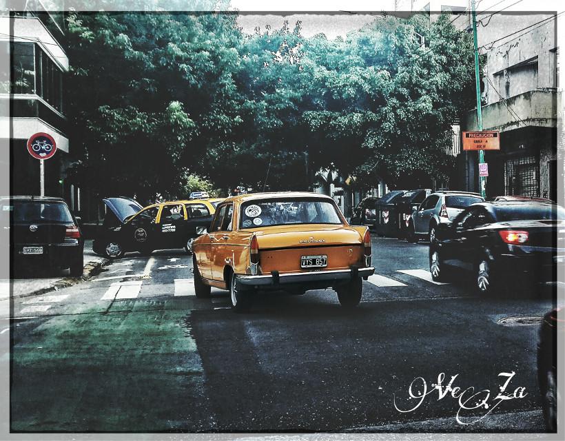 #Peugeot 404 #Car #yeloow