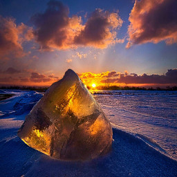 seasons landscapephotography snow winter colorful nature photography ice sunrise Frozen