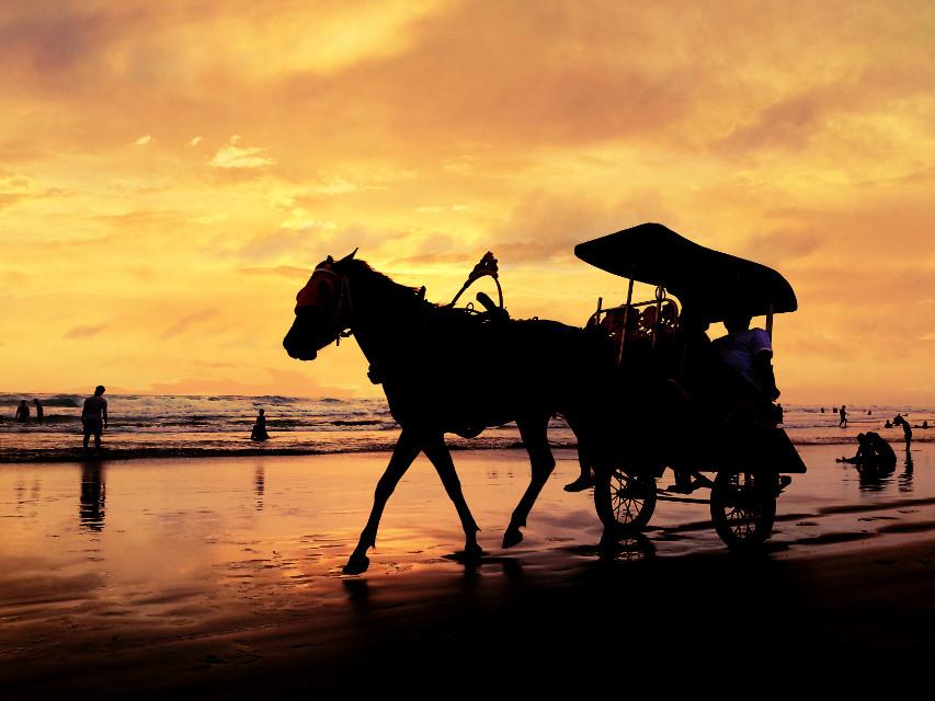 Parang tritis beach, yogyakarta-indonesia