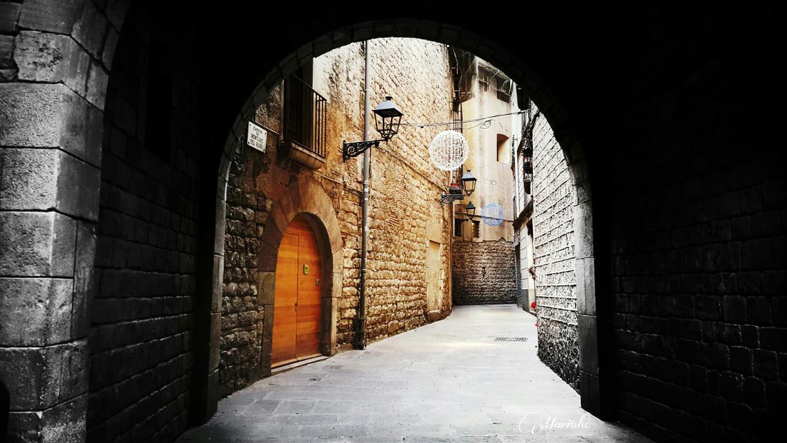 Barrio Gótico de Barcelona.  #España  #colorsplash #colorful #emotions #photography #colorful
