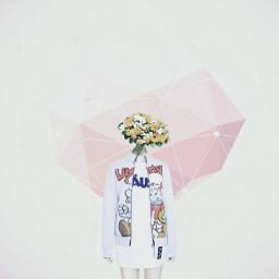 minimalism minimal people surreal flower