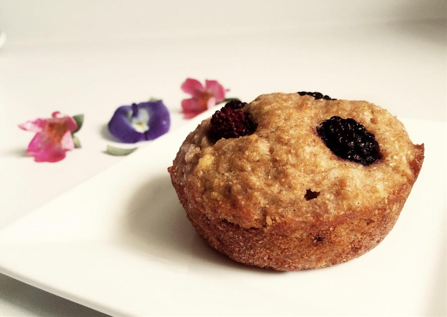 Banana & Berry Wholewheat Muffins