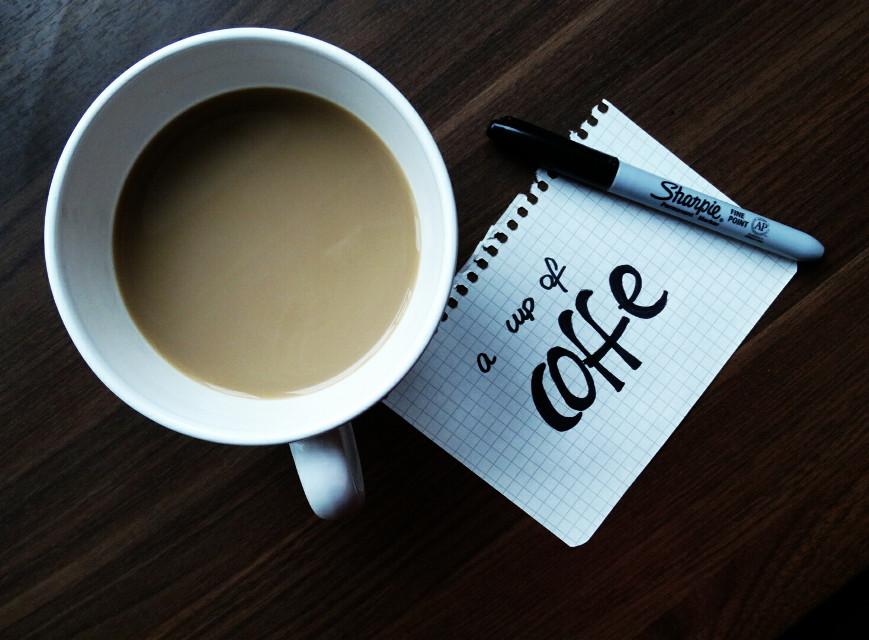 Coffe is life, isn't it? ❤ Follow me ☺ #myinspiration  #coffe  #art  #pencilart #photography  #breakfast  #handwritten  #homemade