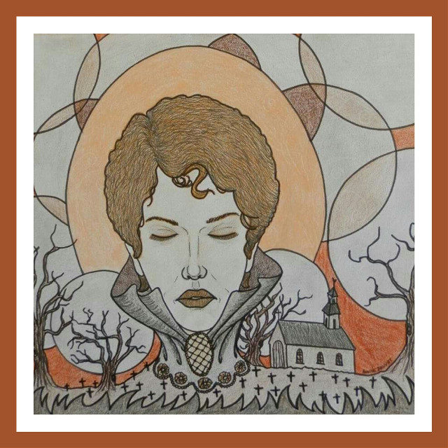 #dessin #drawing #intuition #femme #woman #mere #mother #emotion #tristesse #sadness #solitude #desespoir #despair