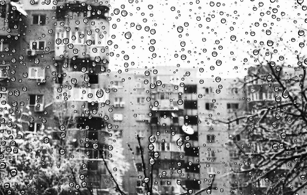 #blackandwhite #noemotions #romania #rain #black #white #bucharest  #photography #winter