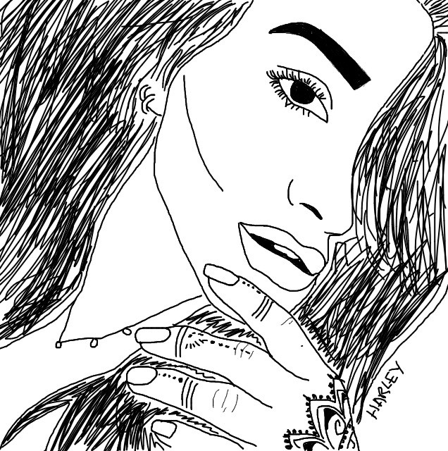 \\Shay Mitchell// #outline #outlines