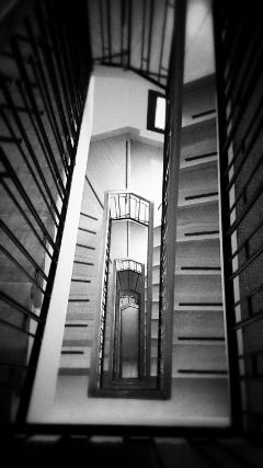 photography blackandwhite stairs architecture