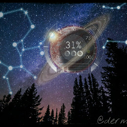 constellations stars night sky dark