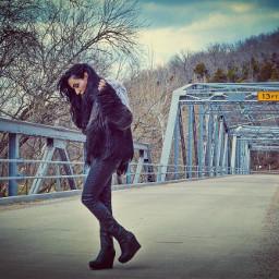 morning bridges girl photooftheday picoftheday