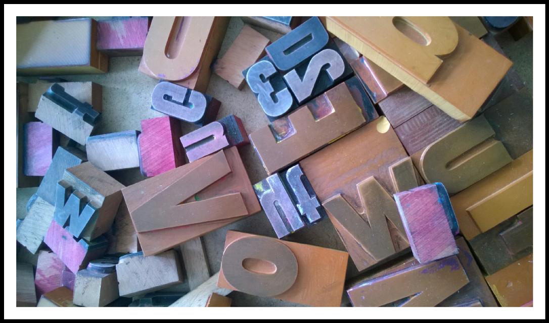 #vintagefinds  #print letters #freetoedit
