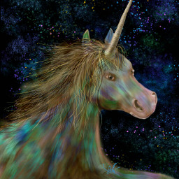 wdpunicorn drawing artistc fantasy horn