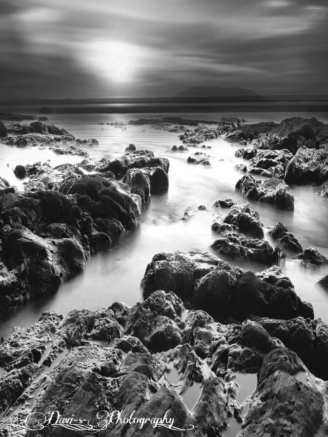 #blackandwhite #nature #photography  #sun  #sunset  #seaside  #hdr  #sky  #clouds  #blur  #beach  #skyviewers  #ocean  #water  #landscape  #skyphotography