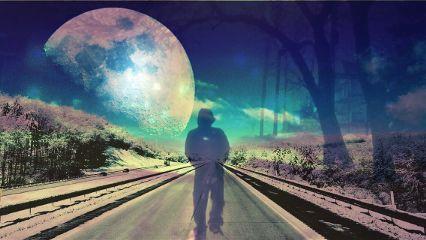 fteroadtowhere freetoedit surreal moon road