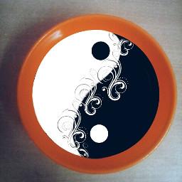 freetoedit yinandyang cute emotions colorful