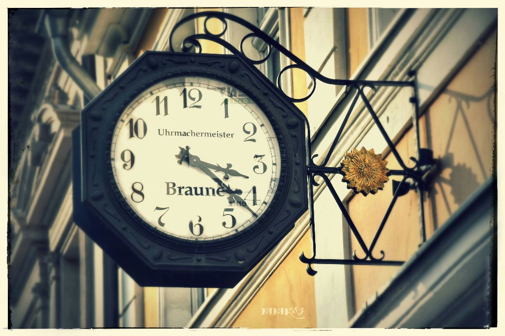Beautiful old #clock in Potsdam #old #metal #photography #nikon #d7200