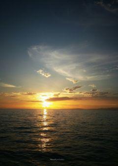 sea sunset photography journey horizon