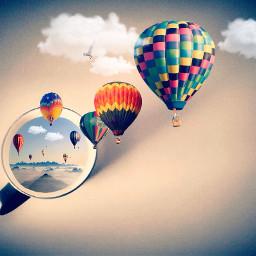 freetoedit picsart balloons picsartediting