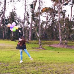 colorful balloon spring candyminimal nature freetoedit