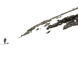 landscapes snow snowcapes hiking