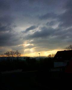 sky light sunrise hope sun