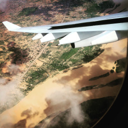 viewfrommywindow airplaneview africa niger