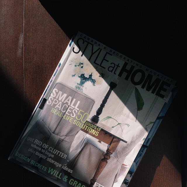 Sunsetting  #light #magazines #homedecor #shadow #style