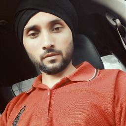 punjabi retro serious turban swag