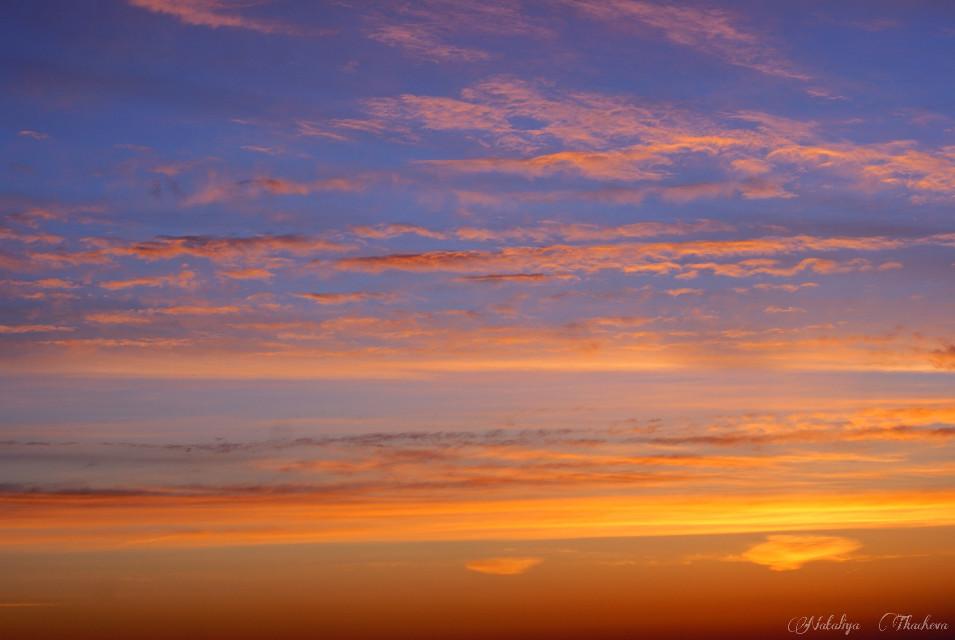 Beautyful sunset No edit! #colorsplash #emotions #nature #spring #sunset #evening #fantastic
