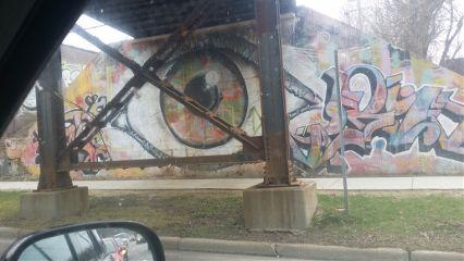 eye streetart love a2