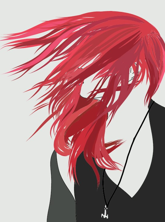 #FreeToEdit #tumblr #tumblroutlines #outlines #drawing #red #hair #redhair
