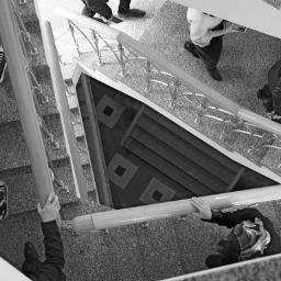 travel blackandwhite stairs triangles