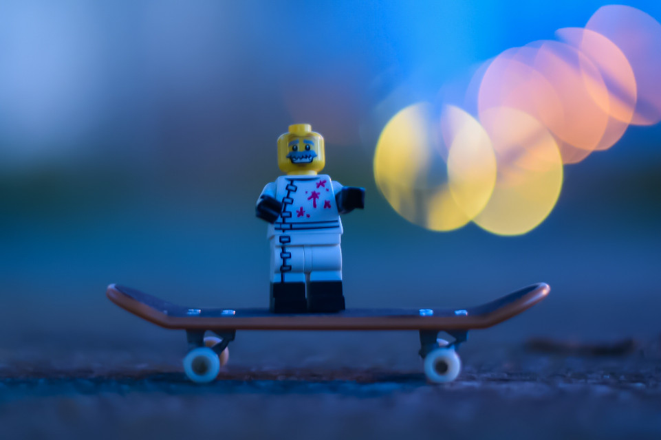 #bokeh #lego #toys #toyphotography #photography #skate