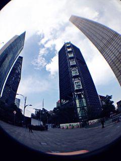 mobilephotowalk fisheye mexico buildings city freetoedit