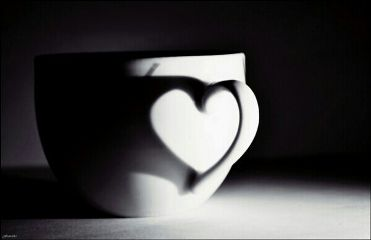 heart blackandwhite