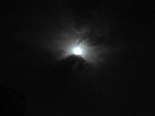 moon landscape clouds night cloudy freetoedit
