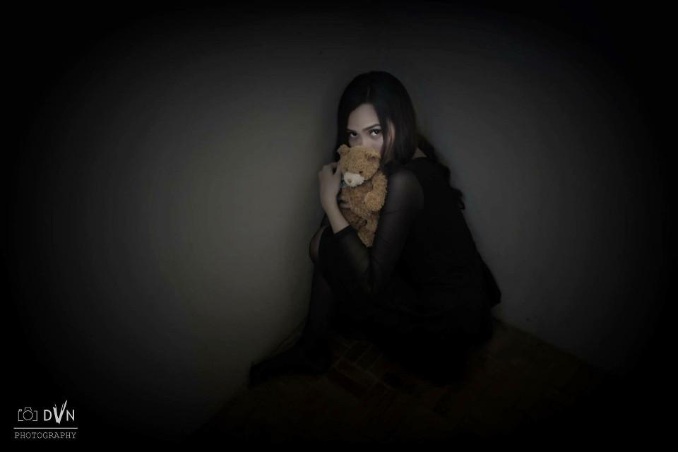 #darkroom #photography #creepy #girl #gothic