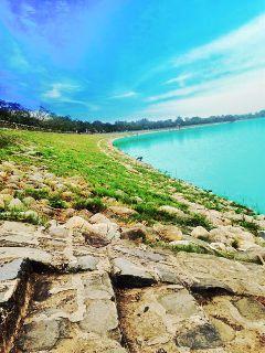 landscape paphotochallenge lake chandigarh bluesky