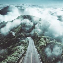FreeToEdit landscape madewithpicsart edited foggy paphotochallenge