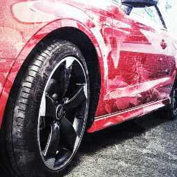 audi cars red photography by_me freetoedit