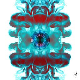 magiceyes upinsmoke mirror mirrored myart