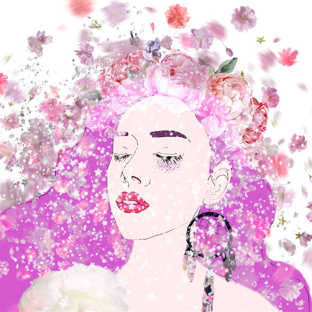 #art #flowers #draw #FreeToEdit